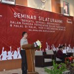 Kapolres Batu sebagai Narasumber Seminar Silaturahmi Dalam Rangka Memperingati Bulan Pancasila