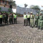 Polsek Ngantang Gelar pasukan Dalam rangka Pilkada Jatim 2018