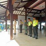 Kapolsek Kasembon Melaksanakan Apel Kesiapan pasukan dalam rangka pengamanan TPS