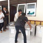 Polri Pengamanan kegiatan rapat pleno rekapitulasi penghitungan suara dalam pemilihan Gubernur dan Wakil Gubernur Jawa timur tahun 2018 ditingkat Kecamatan Junrejo