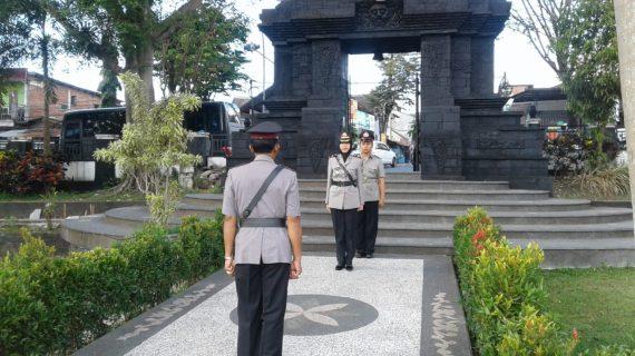 Wakapolres Batu Pimpin Ziarah ke makam TMP Suropati dan berkunjung ke Monumen Status Quo