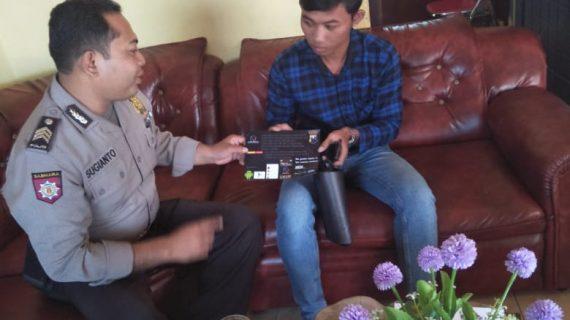 Bhabinkamtibmas Desa Bayem Polsek Kasembon Polres Batu Melaksanakan Sambang Warga