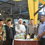Halal Bihalal Kapolres Batu Beserta Forkompimda Kota Batu, Ketua PC NU Kota Batu dan Habib Jamal bin Thoha Ba'agildi Hall Selamat Pagi Indonesia