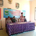 Giat Sinergitas Kemitraan, Kanit Sabhara Polsek Ngantang Polres Batu Hadiri kegiatan di Desa sekaligus berikan himbauan kamtibmas jelang Pilpres 2019