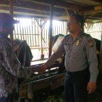 Giat Patroli Sambang DDS dan serap aspirasi , Kunjungan Potensi Ternak Bhabinkamtibmas Desa Oro Oro Ombo Polsek Batu Kota Polres Batu