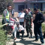 Giat Patroli, Anggota Bhabinkamtibmas Polsek Pujon Polres Batu Bersama 3 Pilar dan Pelaksana Teknis Pengecekan Proyek Desa pandensari