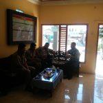 Bhabinkamtibmas Polsek Pujon Polres Batu Giat Sambang Ke Perangkat Desa Ngabab