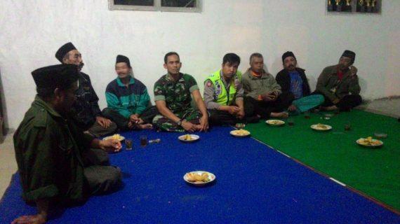 Silaturahmi Kamtibmas Arisan Warga Bhabin Desa Pesanggrahan Polsek Batu Kota Polres Batu