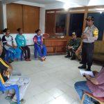 Silaturahmi Tiga Pilar Kamtibmas Kelurahan Songgokerto Batu Dengan Mahasiswa Papua YPPII Batu