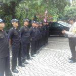 Peningkatan Pengamanan Swakarsa Bhabin Kelurahan Songgokerto Polsek Batu Kota Polres Batu Sambang Satpam
