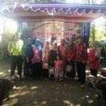 Bhabin Desa Pesanggrahan Polsek Batu Kota Pengamanan Festival Jamu Gendong