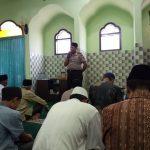 Memakmuran Masjid dan Silaturahmi Tokoh Agama Kapolsek Bumiaji beserta Anggota Polsek Bumiaji Polres Batu