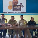 Jaga Kelancaran Acara, Bhabin Polsek Pujon Polres Batu Menghadiri Acara Wilayah Binaanya