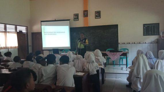 Patroli Kamtibmas, Kegiatan Bintibluh Binmas Polsek Batu Kepada Pelajar SMK