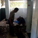 Polsek Batu Menemukan Orang meninggal di dekat Kamar mandi Umum SPBU Songgoriti