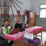Kapolsek Ngantang Memberikan Bimbingan Kepada Siswa SMPN 3 Ngatang dengan Tema Bahaya Narkoba
