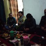 Bhabin desa Pendem Polsek Junrejo Polres Batu hadiri Sosialisasi pembangunan jalan desa.
