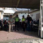 Polsek Batu Melakukan Pengamanan di Gereja GPPS Emanuel Batu.