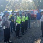 kapolsek Beserta Anggota Laksanakan Apel Pam Hari Koperasi ke 71,Polsek Bumiaji Polres Batu