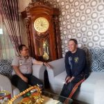 Kapolsek Pujon Polres Batu Silaturahmi Kepala Dusun Wiyurejo