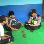 Silaturahmi Tokoh Masyarakat Bhabin Kelurahan Temas Polsek Batu Kota