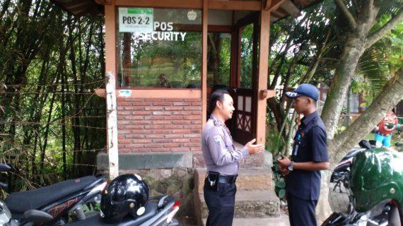 Peningkatan Pam Swakarsa Bhabinkamtibmas Kelurahan Ngaglik Polsek Batu Sambang Satpam Kusuma Agro