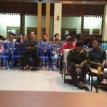Bhabin Polsek Junrejo Polres Batu Menhadiri Sosialisasi Bahya Narkoba di Balai Desa Pendem