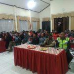 Bhabin Polsek Bumiaji Polres Batu Menghadiri Musyawarah di Balai desa Punten