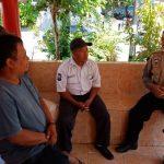 Bhabin Kelurahan Temas Polsek Batu Kota Silaturahmi KamtibmasKe Satpam