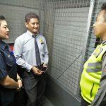 Bhabinkamtibmas Kelurahan Sisir Polsek Batu Sambang Satpam Lippo Plaza Batu Untuk Peningkatan Pam Swakarsa