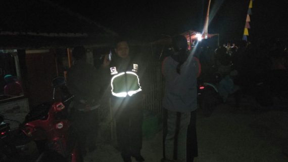 Kesenian Jaran Kepang Bhabin Polsek Pujon Polres Batu Melaksanakan Giat Pelayanan Pengamanan