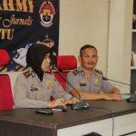 Jalin Silaturahmi Dengan Awak Media Pokja Jurnalis Kota Batu, Polres Batu Ajak Tangkal Paham Radikal