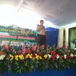 Kapolsek Junrejo bersama Anggota Polsek Junrejo Polres Batu menghadiri Acara wisuda siswa siswi Madrasah Ibtidaiyah Iskandar tahun 2017-2018.