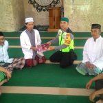 Mantab, Kegiatan Bintibluh Untuk Kemakmuran Masjid Binmas Polsek Batu Kota Beserta Santri Ponpes Darusholihin Wilayah Polres Batu