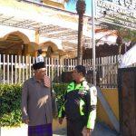 Kanit Bimmas Polsek Batu melaksanakan Sambang Toga Tingkatkan Silaturahmi anatara Ulama dan Umaro'