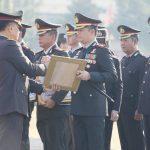 HUT RI Ke – 73, Kapolres Batu terima Reward Kapolda Jatim