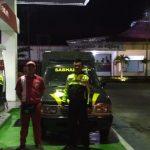 Cegah terjadinya kriminalitas di malam hari, Anggota Polsek Bumiaji Polres Batu melaksanakan patroli dialgis di obyek vital