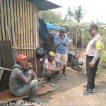 Sambang Pagi Bhabinkamtibmas Kelurahan Songgokerto Polsek Batu Kota Tingkatkan Silaturahmi