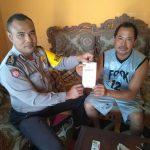 GIAT SAMBANG, BHABINKAMTIBMAS DESA JOMBOK KEC NGANTANG POLRES BATU PEDULI PELAYANAN SATPAS