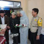 Bhabinkamtibmas Kelurahan Temas Polsek Batu Kota Hadiri Peresmian Gedung Serbaguna RW 09