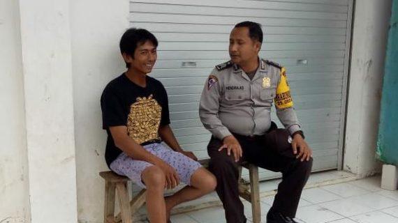 Giat Sambang Bhabinkamtibmas Desa Oro Oro Ombo Polsek Batu Polres Batu Ke Tokoh Pemuda