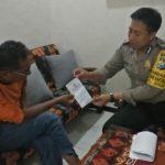 Door To Door System Bhabinkamtibmas Kelurahan Sisir Polsek Batu Kota Polres Batu Sampaikan Surat Pemberitahuan Mas Berlaku SIM