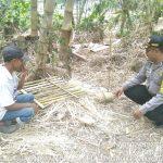 Sambang Kamtibmas Bhabin Kelurahan Songgokerto Polsek Batu Kota Polres Batu Sampaikan Pesan Kamtibmas