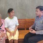 Sambang Warga Lansia Bhabinkamtibmas Kelurahan Temas Polsek Batu Kota Polres Batu Tingkatkan Tali Silaturahmi