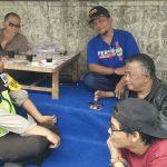 Bhabinkamtibmas Desa Pesangrahan Polsek Batu Kota Sambang Tomas Sosialisasikan Layanan Android Apel