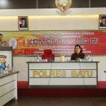Kapolres Batu AKBP Budi Hermanto, S.I.K, M.Si Sambut Kedatangan Tim Evaluasi Kemenpan RB