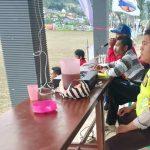 Bhabinkamtibmas Desa Sumberejo Polsek Batu Sambang Dan Pengamanan Sepak Bola Liga RT