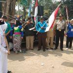 Kanit Sabhara Polsek Ngantang Polres Batu Melaksanakan Pengamanan Omba karnaval Keluarga Himpunan Himpaudi