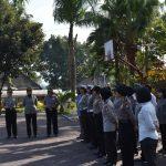 Kasi Propam Polres Batu Melaksanakan Gaktibplin Seluruh Anggota Polwan Polres Batu Dalam Rangka HUT Polwan ke 70 tahun 2018