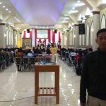 Polsek Batu Polres Batu melaksanakan Pengamanan Kebaktian di Gereja Gembala Baik